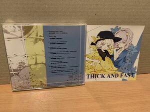 東方系同人音楽CD 極美品★THICK AND FAST  /  Tribullets     TRBL-0005