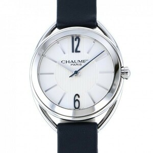 ショーメ CHAUMET リアン W23210-01A ホワイト文字盤 中古 腕時計 レディース