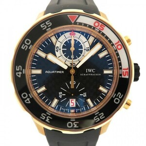 IWC アクアタイマー クロノグラフ IW376903 ブラック文字盤 新品 腕時計 メンズ