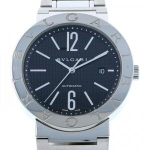 ブルガリ BVLGARI ブルガリブルガリ BB42BSSDAUTO ブラック文字盤 新品 腕時計 メンズ