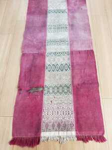 Мьянма античный подбородок .to соперник гобелен интерьер ткань старый ткань хлопок 100% Азия craft