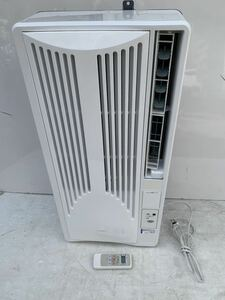 良品◇KOIZUMI   コイズミ 窓用エアコン KAW-1662 2017年製 リモコン付き 引き取り可能です