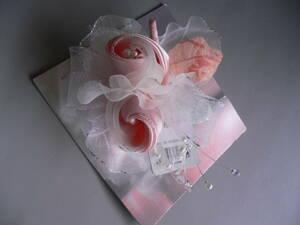 新品ラブリークイーンピンク白パールコサージュ卒業式入学式フォーマル7