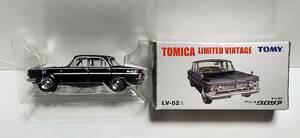 内装茶 希少品 トミーテック トミカリミテッド ヴィンテージ 2代目 プリンス グロリア LV-02f ミニカー ニッサン 日産