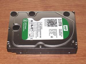 ★ 3.0TB ★ Western Digital Green 【 WD30EZRX 】 稼働少 ★707