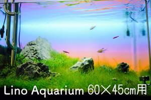 【60×45cm水槽用】LEDバックスクリーン(blue & orange)【検索ワード】 水槽 ★ 照明 ★ アクアリウム ★ ライトスクリーン ★ ADA