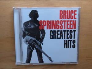 CD ブルース・スプリングスティーン グレイテスト・ヒッツ CBS/SONY