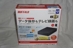 ★ 送料無料! ★ BUFFALO バッファロー 4TB 外付け ハードディスク 【 HD-EDS4U3-BC 】