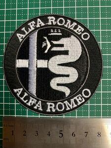 アイロンワッペン アルファロメオ 刺繍