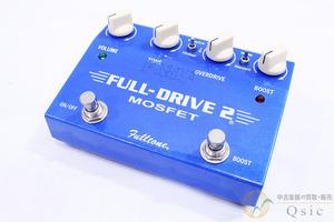 [中古] Fulltone Full Drive 2 Mosfet 世界中で愛用されてきたロングセラーモデル/チューブアンプとの相性も抜群 [PH780]