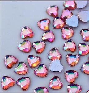 ネイルアート ラインストーン、薄いピンク、160個