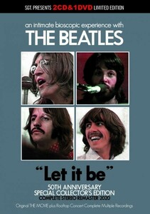 THE BEATLES / LET IT BE& THE MOVIE 50TH ANNIVERSARY REMASTER 2020 = [2CD+DVD]