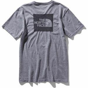 THE NORTH FACEノースフェイス スクエアロゴジャカードティー グレー(灰) メンズ 2サイズ 新品