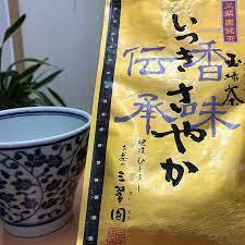#玉緑茶 いつきさやか 人吉お茶の三翠園 100g