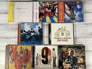 即決 W9458 ウルフルズ CD アルバム 8枚セット|Stupid & Honest|レッツ・ゴー|バンザイ|サンキュー・フォー・ザ・ミュージック|他