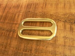 コキカン 角カン 30mm 真鍮 無垢 ブラス レザー ベルト 革 3cm 真鍮無垢 カスタム キーホルダー レザークラフトに