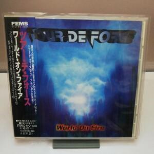 ツアー・デ・フォース/ワールド・オン・ファイアCD