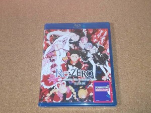新品BD★Re:ゼロから始める異世界生活 第1期 全25話 ブルーレイ 北米版[PS3,4再生可]