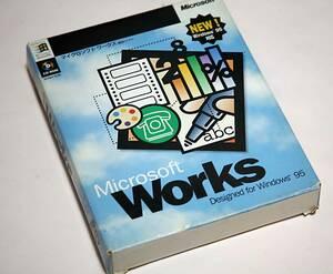☆Microsoft Works for Windows 95【CD-ROM版】Ver4.0