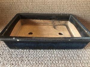 植木鉢 鉢 盆栽 盆栽鉢 ガーデニング プランター 花 長方形 陶器  鉢植え 寄せ植え フラワーポット 136