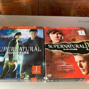 SUPERNATURAL スーパーナチュラル 1.2セット!!
