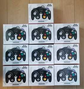 10個 セット 新品 未開封 Switch ニンテンドー スイッチ 任天堂 純正品 ゲームキューブ コントローラー スマブラ ブラック コントローラ