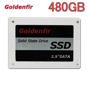 【今だけ最安値】SSD Goldenfir 480GB SATA3 / 6.0Gbps 新品 2.5インチ 高速 NAND TLC 内蔵 デスクトップPC ノートパソコン