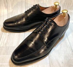 SCOTCH GRAIN スコッチグレイン◆Uチップ F-0345◆24.5㎝◆黒◆革靴 本革 ビジネスシューズ ドレスシューズ フォーマル 紐靴 メンズ 日本製