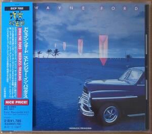 Dwayne Ford Needless Freaking ドウェイン・フォード/ストレンジャー・イン・パラダイス 国内盤中古CD 歌詞対訳、金澤寿和の解説付き AOR
