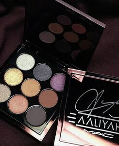 【送料無料】マック MAC 新品 アイシャドウ 9色 Aaliyahとのコラボ アイシャドー 限定品 残り1