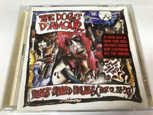 中古輸入盤CD THE DOGS D'AMOUR / HEART SHAPED SKULLS(BEST OF 1988-93)ドッグスダムール