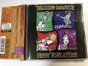 貴重!中古国内盤CD THE DOGS D'AMOUR / HAPPY EVER AFTER ドッグスダムール