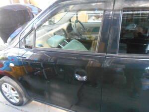 000707 即決!MG22S ZJ3黒 左フロントドア 助手席ドア  現車 部品取車