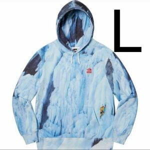 L 新品未使用 Supreme The North Face Ice Climb Hooded Sweatshirt 正規品 パーカー シュプリーム ノースフェイス