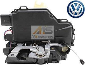 【M's】VW ニュービートル(9C) ゴルフ4/ボーラ(1J) ルポ(6X)純正品 フロント ドアロック アクチュエーター(左側)/6X2-837-013C 6X2837013C