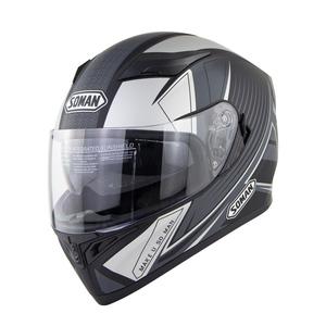 バイクヘルメット ダブルレンズ ヘルメット フルフェイスヘルメット オープンフェイスヘルメット SOMAN 960 B-S