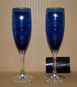 ●ミキモト MIKIMOTO ワイングラス シャンパングラス? 2客セット 未使用家庭保管品