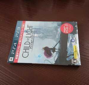 PS4 PS3 CHILD OF LIGHT UBISOFT チャイルド オブ ライト 片々ダウンロード用プロダクトコード+初回生産限定特典封入 新品 未使用 未開封