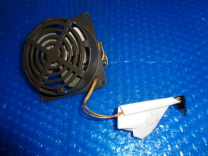 TS-520・ファン・空冷用・TRIO・HF無線機分解部品・中古品・動作確認・ねじあり・