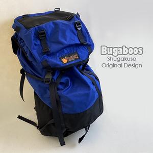 秀岳荘 オリジナル Bugaboos バックパック ブルー 大容量 大型 登山 アウトドア リュックサック バッグ 鞄 レジャー キャンプ 用具 札幌