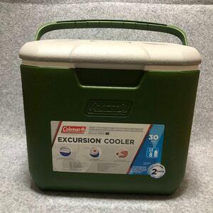 コールマン エクスカーションクーラー 30QT オリーブxライトグレー 限定カラー
