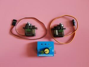 サーボテスター1個+超小型 サーボ モーター 金属歯車 Servo motor
