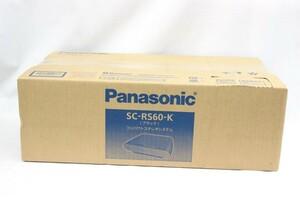 【未使用品 箱ダメージ】 パナソニック コンパクトステレオシステム SC-RS60-K ブラック ブルートゥース CD ラジオ