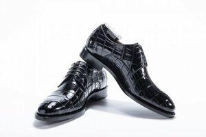 ☆ワニ革 メンズシューズ 紳士靴 スリッポン 皮靴 24~27cm モカシン レザー カジュアルシューズ ビジネス シューズ 幅広 男性 プレゼント