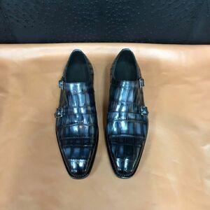 ワニ革 メンズシューズ ビジネスシューズ 靴 皮靴 紳士靴 24~27cm モカシン カジュアルシューズ レザー 大人気 丈夫 幅広 男性 プレゼント