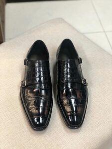 ワニ革 メンズシューズ ビジネスシューズ 靴 皮靴 紳士靴 24~27cm モカシン カジュアルシューズ レザー 丈夫 幅広 大人気 男性 プレゼント