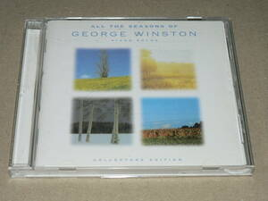 """CD (Wyndham Hill) / George Winston Piano Solo """"All The Seasons of George Winston"""" '98"""