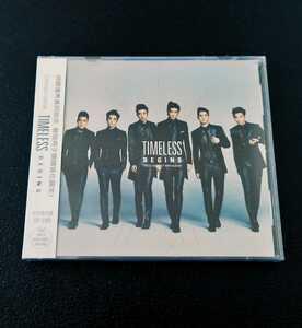 【新品 未開封】 CROSS GENE / TIMELESS -BEGINS- 《アジア盤 中国盤? アルバム CD+DVD》 クロスジン K-POP 韓国 [CD4枚まで同一発送]