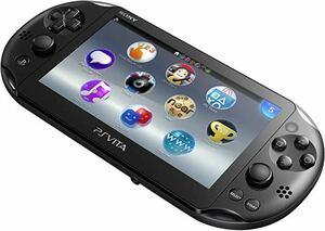 ☆新品☆ PlayStation Vita Wi-Fiモデル ブラック & メモリーカード 32GB、専用ケース付き
