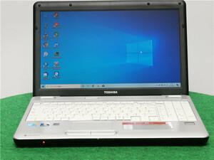 中古/15型/ノートPC/Windows10/WPSOffice/500GB/4GB/i3 M330/リカバリー/TOSHIBA BX/51L リカバリー領域  MS Office代行サービス